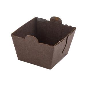 Easybake Brown Cube Mold