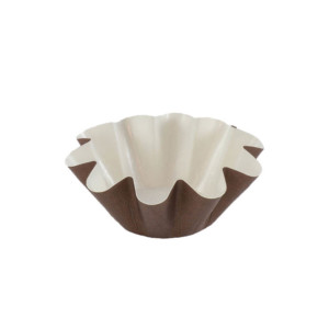 PBA 02 Medium Brown Floret Cup