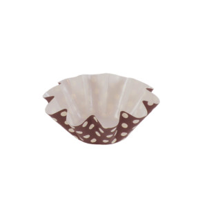 PBA 02 Medium Floret Cup – Brown/White