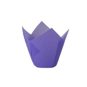 110/35 Purple Tulip Baking Cup