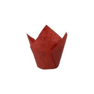 110/35 Red Tulip Baking Cup