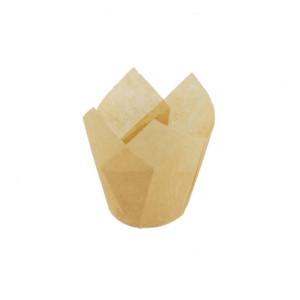 110/35 Natural Tulip Baking Cup